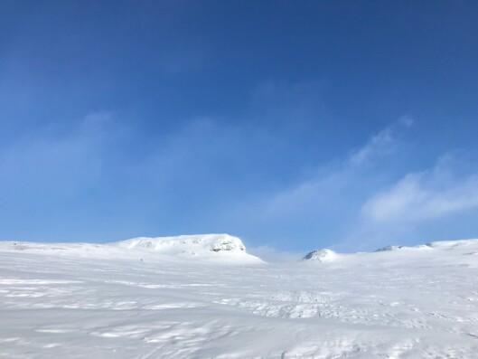 UTSIKT: Holken, rett etter Litlos.