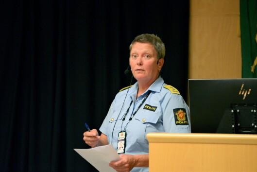 KREVENDE SITUASJON: Oslo politidistrikt, med politimester Beate Gangås i spissen, avviser at det er et alternativ å kryssfinansiere beredskapssenteret på bekostning av annen drift.