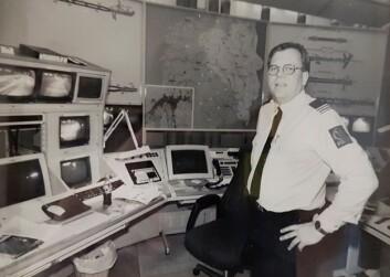 OPS: Slik så det ut på operasjonssentralen i Oslo på 1990-tallet, da Rynning en periode tjenestegjorde der.