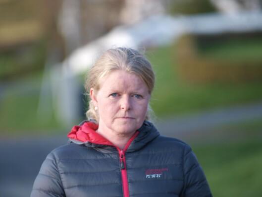 IKKE VARSLET: Guro Wardberg, moren til 10-åringen som ble bitt, mener hendelsen ikke er tatt på alvor av politiet i Innlandet.
