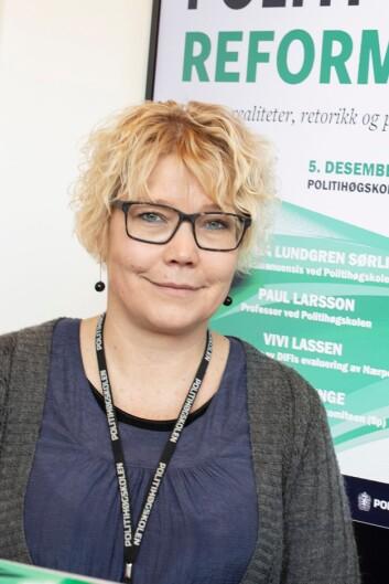 Vanja Lundgren Sørli, førsteamanuensis ved Politihøgskolen.