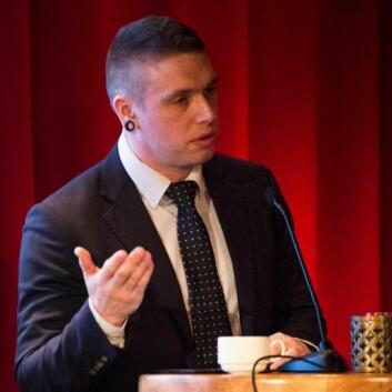 Kenneth Archtander Johansen, leder av Rusmisbrukernes Interesseorganisasjon (RIO).