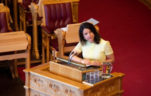 Jenny Klinge, justispolitisk talsperson for Senterpartiet.