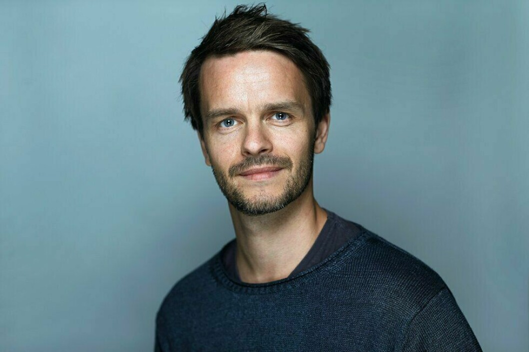 Erik Inderhaug, redaktør i Politiforum.