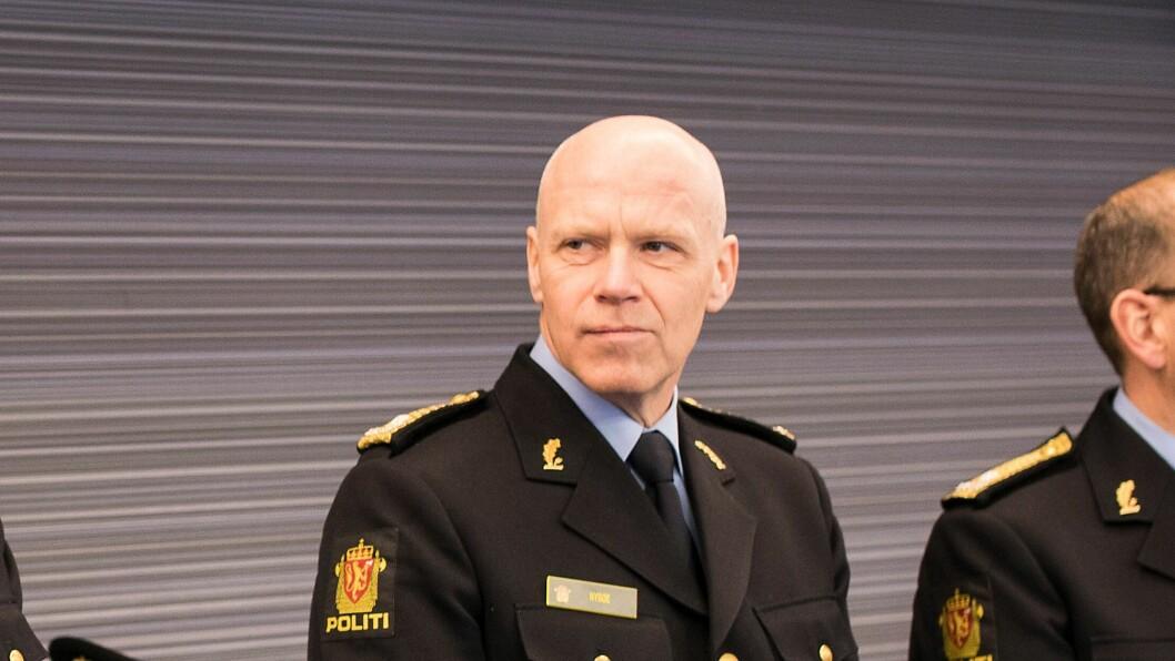 Terje Nybøe har blitt ny sjef for Spesialenheten for politisaker. Bildet er tatt i en annen sammenheng.