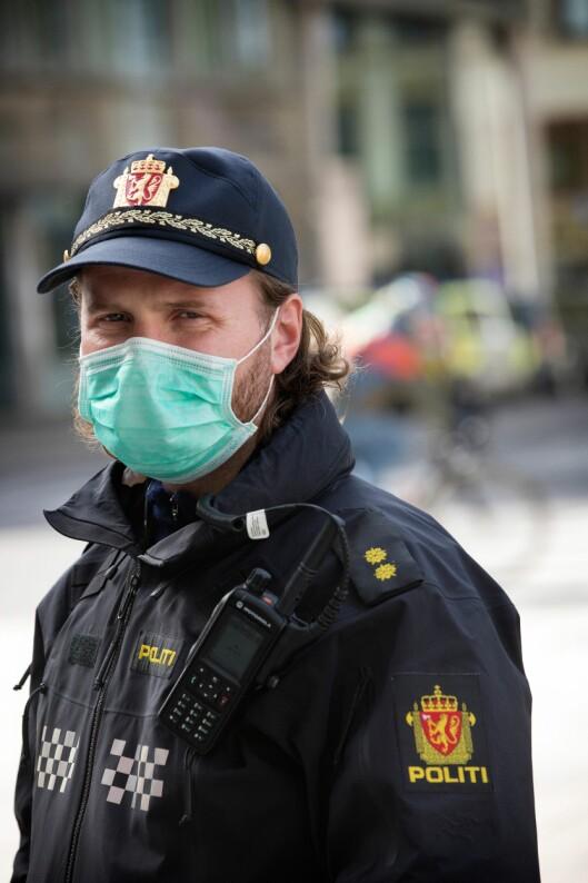 MANGEL: Flere politidistrikter melder om at de har for få munnbind.