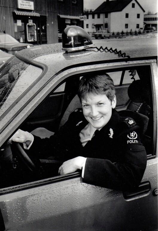 LENSKVINNE: Anne Katrine Rambøl var den aller første kvinnelige lensmannen da hun ble ansatt som lensmann i Ballangen i 1989.