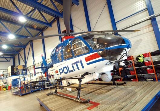 Det gamle politihelikopteret skal til Luftfartsmuseet i Bodø.