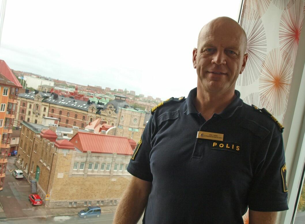Erik Nord, politisjef i Stor-Göteborg.