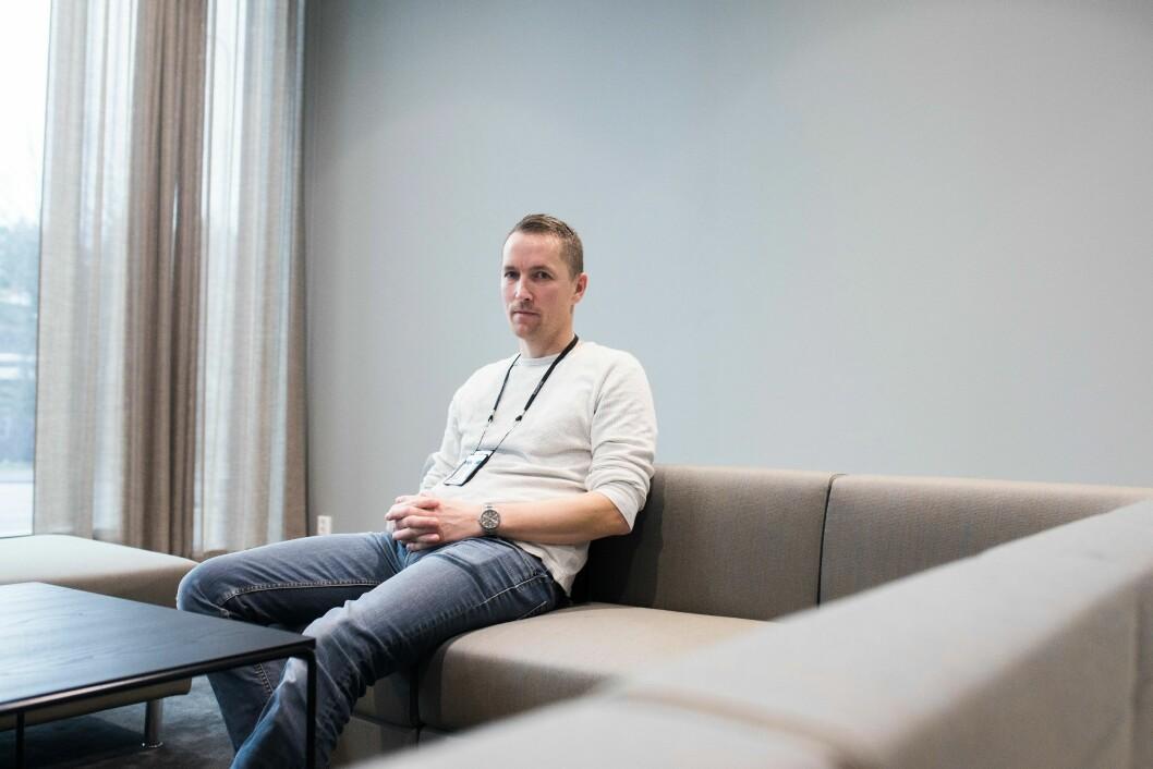 KRYPTO-EKSPERT: Eirik Sneeggen ved Kripos forteller at politiet opplever utfordringer ved at kryptovalutaer som Bitcoin er helt uregulerte i Norge.