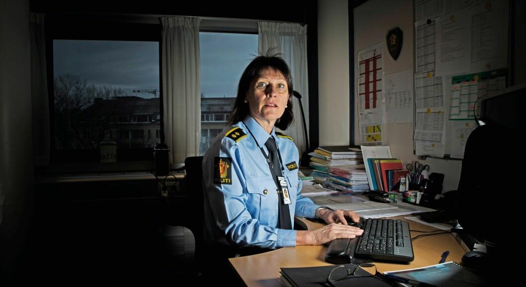 BEKYMRET: Restansene har økt mye på Seksjon for etterforskning av alvorlige seksuallovbrudd, forteller seksjonssjef Kari-Janne Lid. Flere tilrettelagte avhør er blant oppgavene som beslaglegger mye av etterforskernes tid.