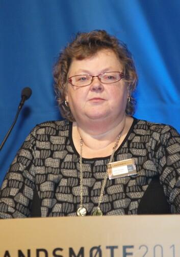 Reidun Martinsen, leder i PF Innlandet.
