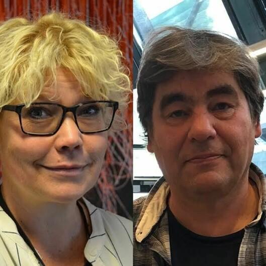 Førsteamanuensis Vanja Lundgren Sørli og professor Paul Larsson.