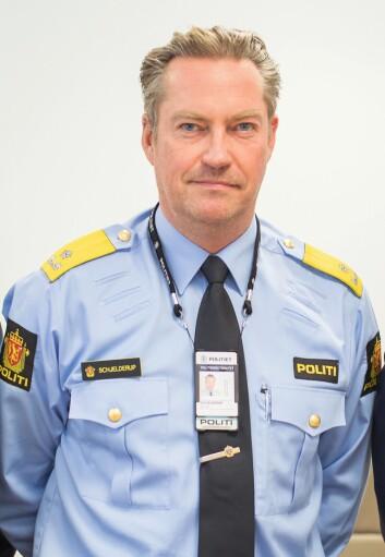 FORBEDRINGSPOTENSIALE: Seksjonssjef Jørn Schjelderup i Politidirektoratet (POD) medgir at POD kan være flinkere til å se krisepotensialet i slike situasjoner.