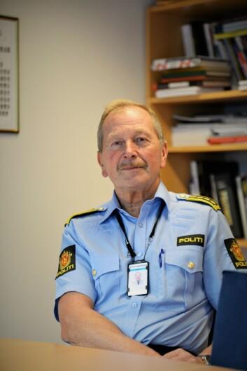 BEKYMRET 2: Geir Valaker, leder for bacheloravdelingen i Oslo, sier Politihøgskolen tar problemet på alvor.