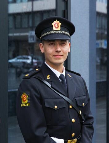 DRØMMEN: Kim Eirik Nygaard vil jobbe som politi.