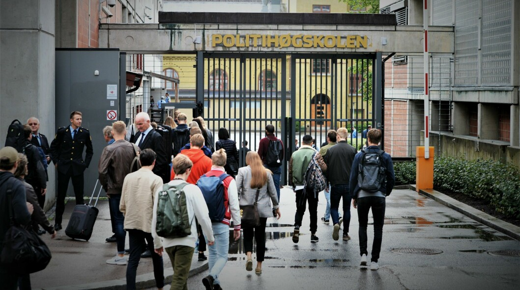 Politihøgskolen i Oslo.