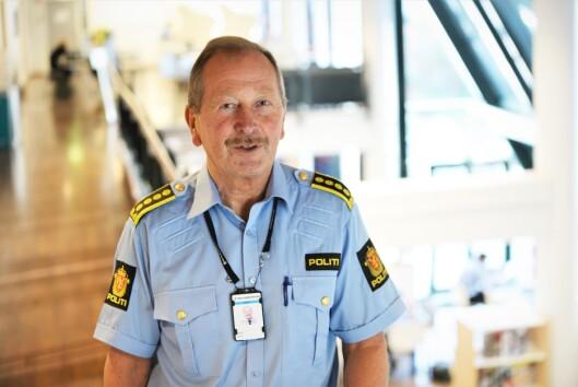 Geir Valaker, leder for bachelorutdanningen ved Politihøgskolen i Oslo.