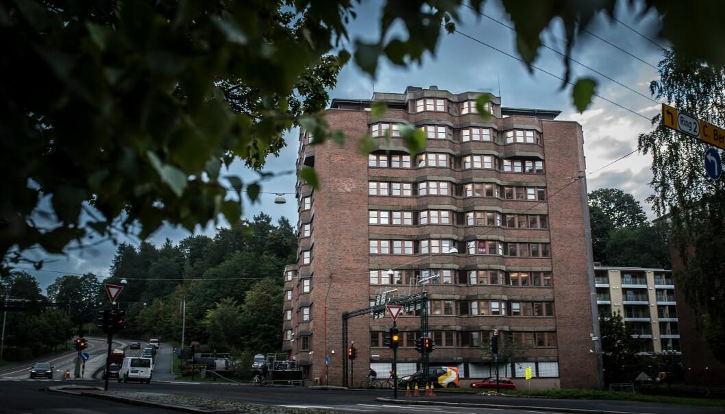 Politiets Utlendingsenhets lokaler i Oslo.