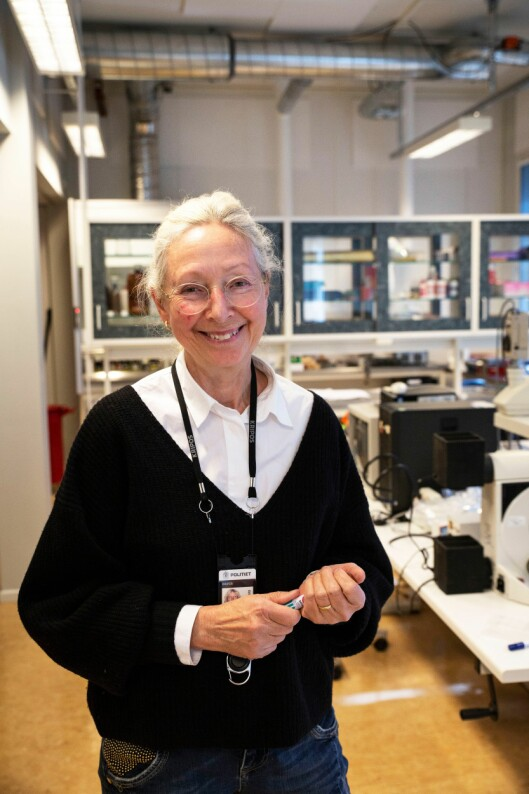 Gunhild Isager, skriftgransker i Kripos.