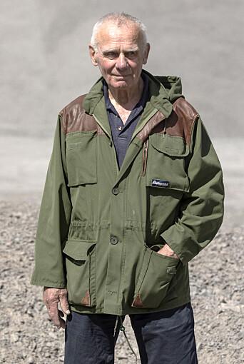 SER TILBAKE: Torleiv Vika er nå 83 år gammel, og har fortsatt klare meninger om politiet. Foto: Thomas Haugersveen