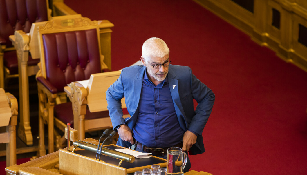 Petter Eide, justispolitisk talsperson i SV.