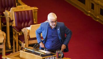 Petter Eide, justispolitisk talsperson i SV