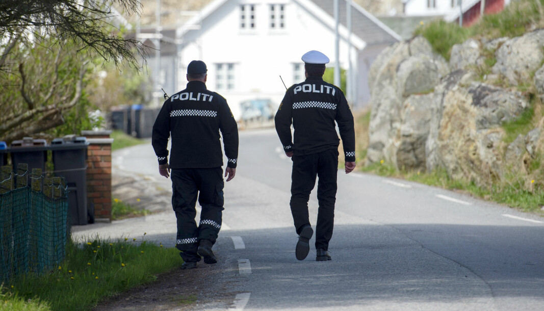Antallet politiårsverk i politidistriktene synker, og det er nå færre politiårsverk i politidistriktene enn i april 2019.