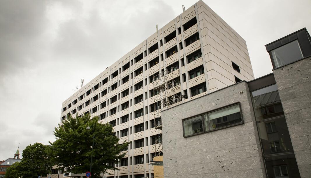Politihuset i Kristiansand.