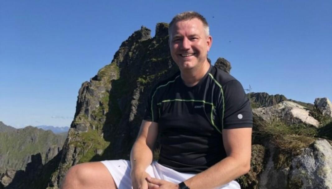 Per Erik Hagen liker å gå i fjellet, og har gode muligheter til det som GDE-leder i Lofoten og Vesterålen.