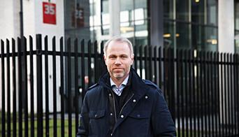 Helge Mehus, leder for livvaktseksjonen ved PST.