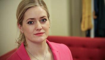 Emilie Enger Mehl, justispolitisk talsperson i Senterpartiet.
