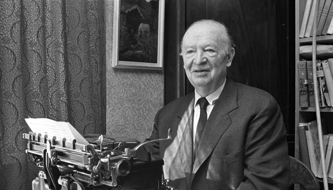 Forfatteren Arthur Omre.