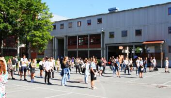 ROPT OPP KLASSEVIS: I år er det kun 96 studieplasser ved Politihøgskolens studiested i Oslo, etter at regjeringen bestemte at hele kuttet skulle tas i Oslo