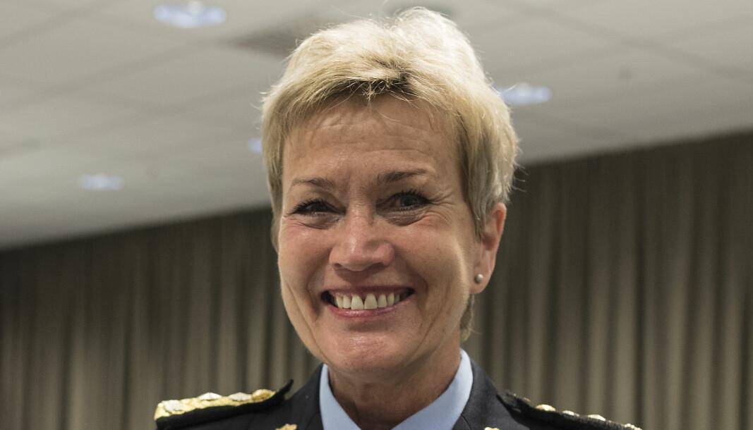 Politimester Kirsten Lindeberg i Agder politidistrikt.