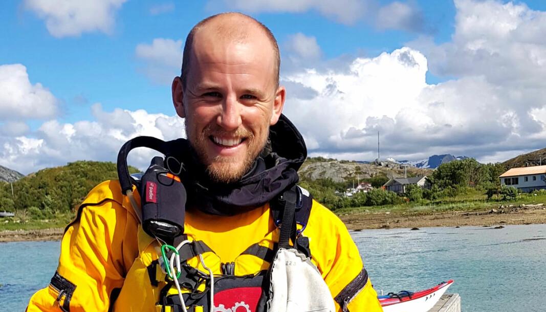 Mads Skipanes forteller at det var en utrolig opplevelse å padle langs norskekysten.