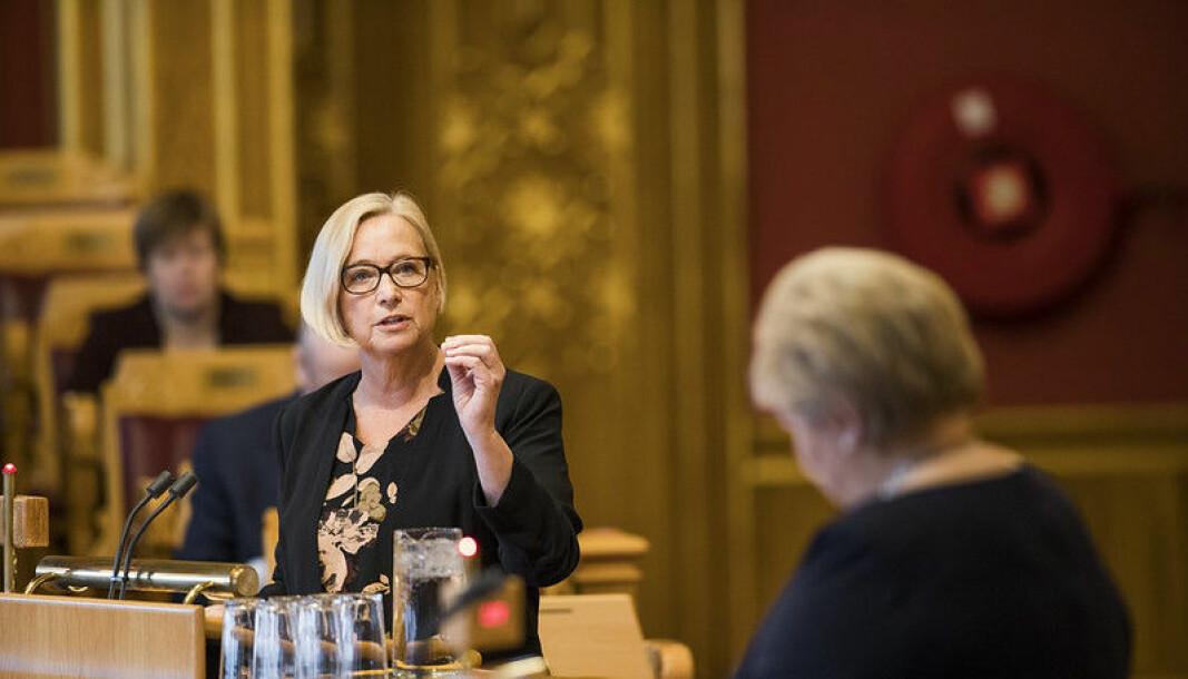 Marit Arnstad, leder av programkomiteen i Senterpartiet, har tatt til orde for å legge ned flere direktorater, blant annet Politidirektoratet.