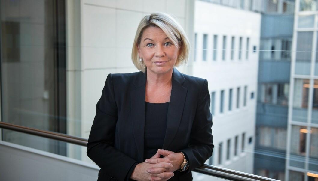 Monica Mæland, justis- og beredskapsminister.