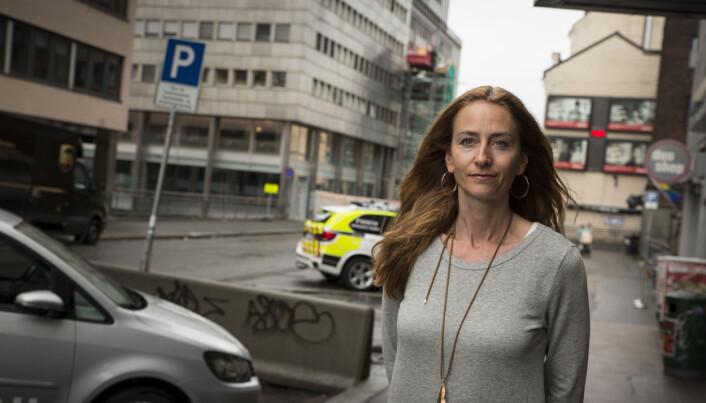 RAMTIDSFRYKT: – Min spådom er at når 1. januar kommer og vi har telt antall politistillinger, så forsvinner stillinger ved naturlige avganger, sier Kristin Aga, leder for Oslo politiforening.