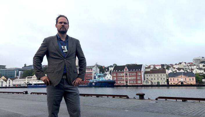 BANKEROTT: – Hvis vi følger oppbemanningspresset fra POD, og POD ikke tar regningen, blir vi enda mer skakkjørte, sier lokallagsleder Per Anders Røsjorde i PF Sør-Vest.