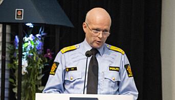 Hans Vik, politimester i Vest politidistrikt.