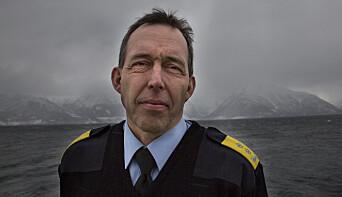 Kaare Songstad, politimester i Vest politidistrikt.