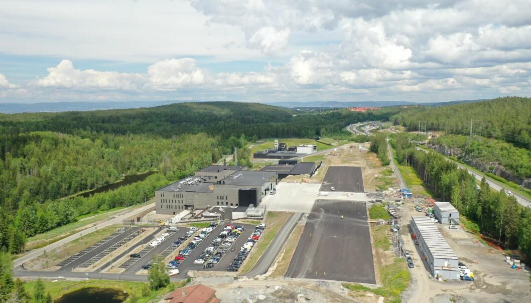 Beredskapssenteret ved Taraldrud utenfor Oslo.
