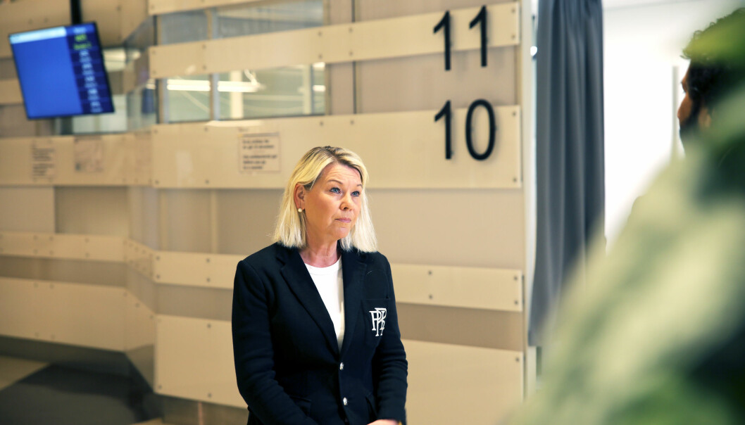 Justisminister Monica Mæland er tydelig på at en trakassering er en for mye.