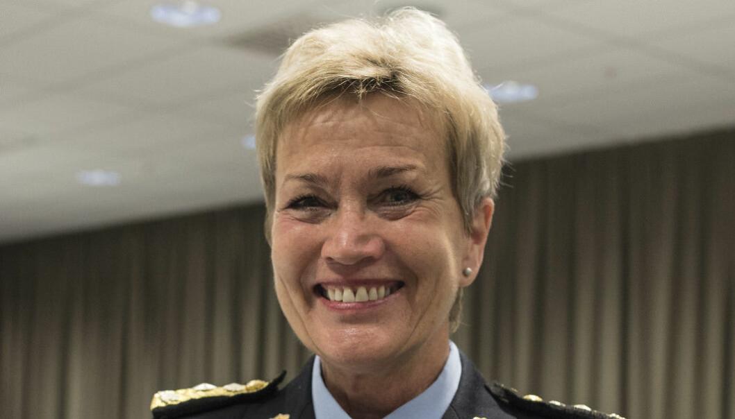 Kirsten Lindeberg går av som politimester i Agder politidistrikt.