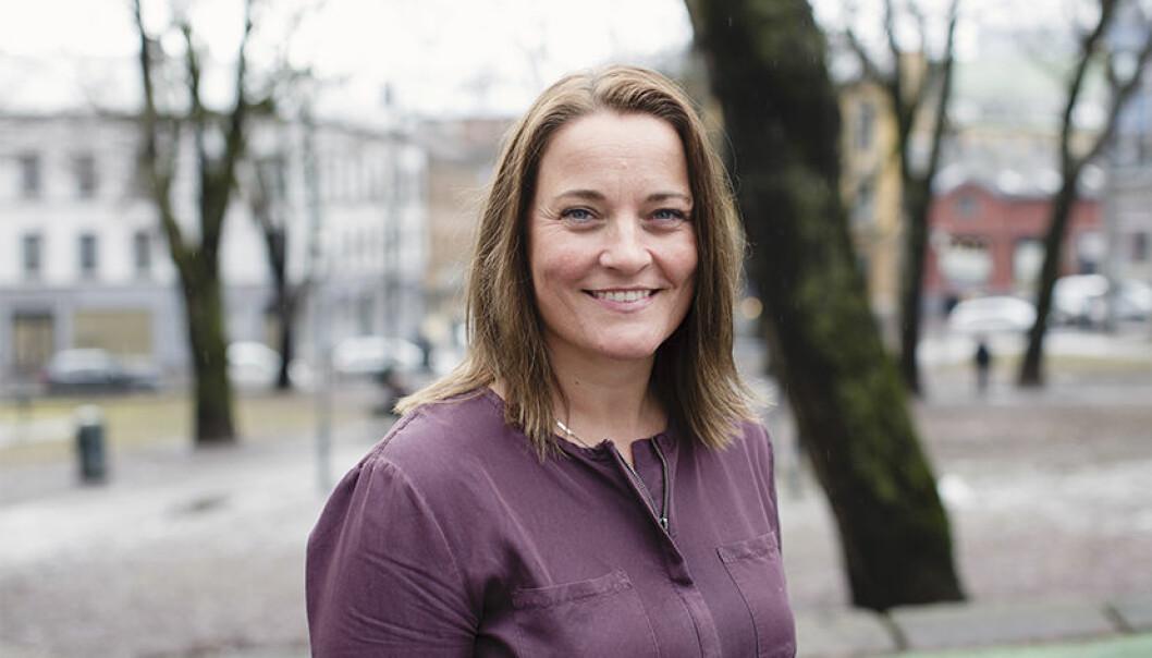 Unn Alma Skatvold, nestleder i Politiets Fellesforbund og visepresident i EuroCop.