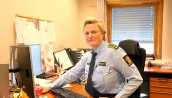 OPPDELT: – Vi ender opp med et delt politidistrikt, der by og land blir veldig ulikt, frykter Katrine Grimnes.