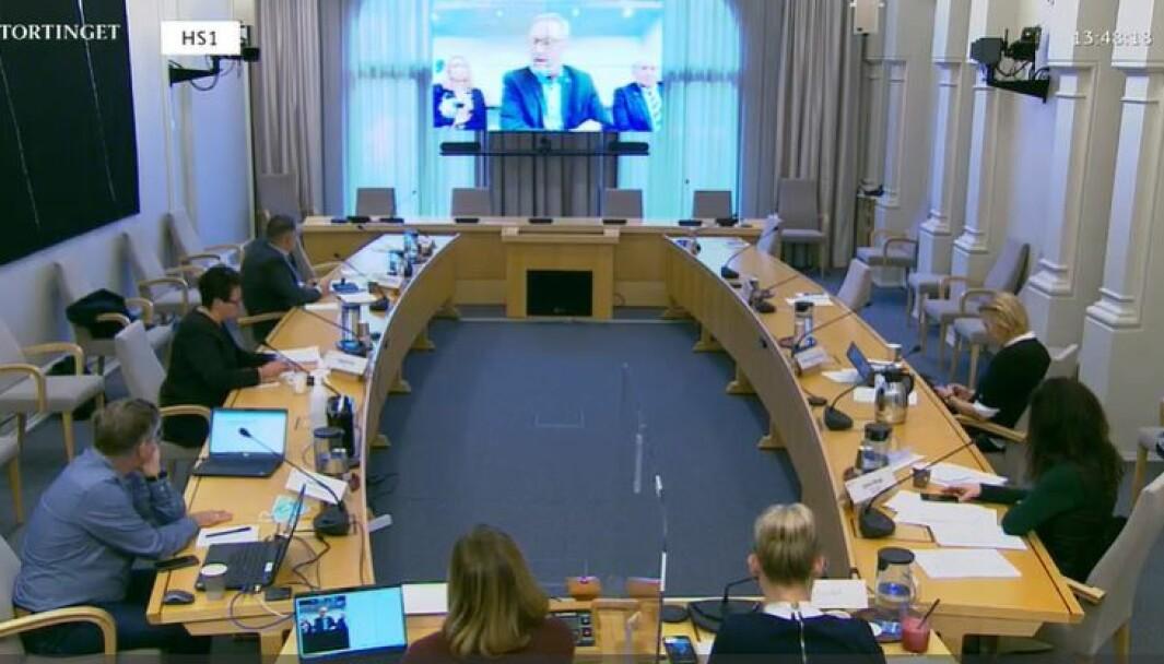 Medlemmene av Justiskomiteen i Stortinget fikk innspill fra en rekke høringsinnstanser i forbindelse med behandlingen av politimeldingen, som regjeringen la fram i juni.