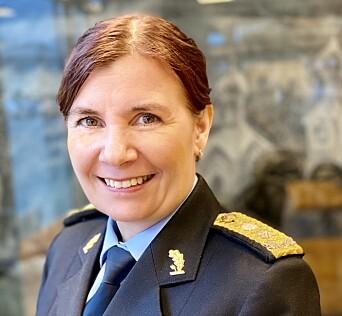 Ellen Katrine Hætta, politimester i Finnmark politidistrikt.