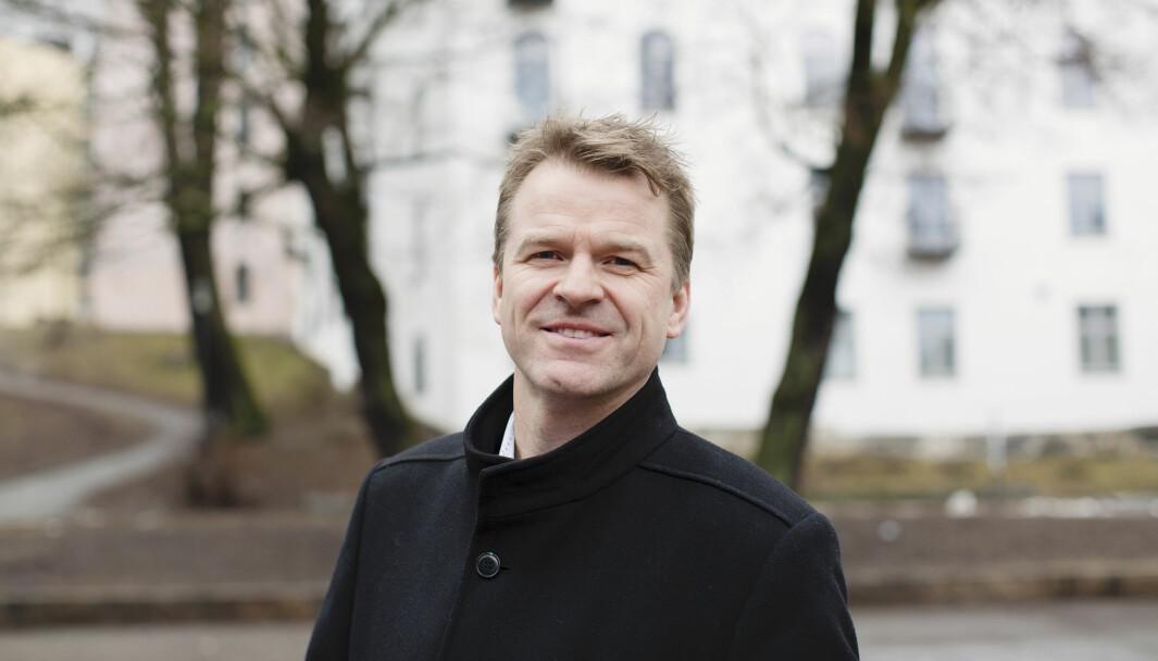 Sigve Bolstad, leder for Politiets Fellesforbund.
